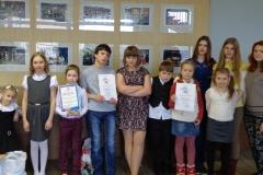 Участники областного Праздника юных писателей в городе Мурманске.