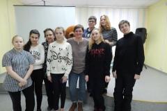 2019 г. Встреча с актрисой Мурманского областного театра кукол Екатериной Ефремовой