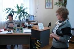 Сотрудники МОДЮБ - инициаторы акции – автотурне в Мончегорске «Давайте вместе сделаем Интернет безопаснее!»