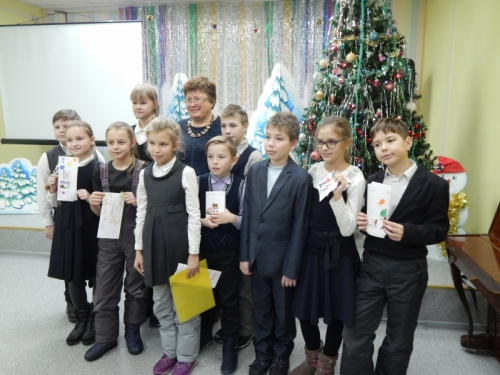 2017 г. Встреча с детской писательницей Татьяной Корниенко
