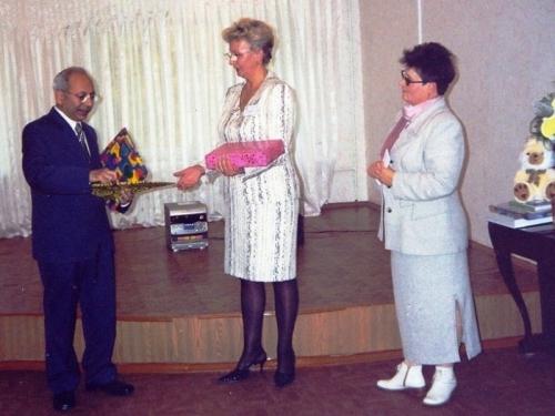 Представитель Индии на открытии центральной детской библиотеки