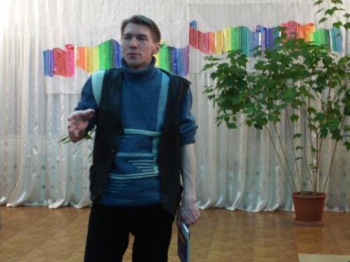 Коржов Д., писатель - на Масловских чтениях