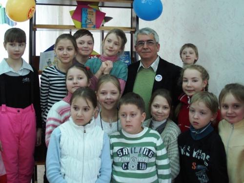 Махотин С., писатель - на встрече с читателями