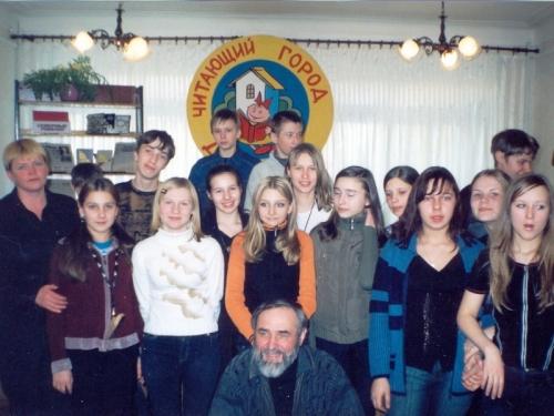 Орешета М.Г., писатель - на встрече с читателями