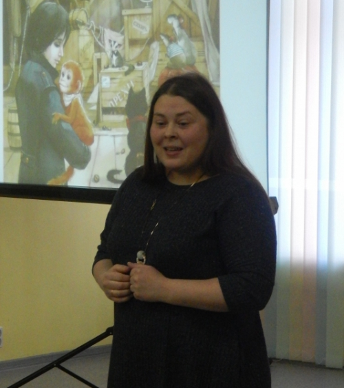 Встреча с Татьяной Березюк - писательницей, автором книг для детей